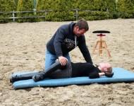 Bodenübung beim 6-Punkte-Programm nach Eckart Meyners